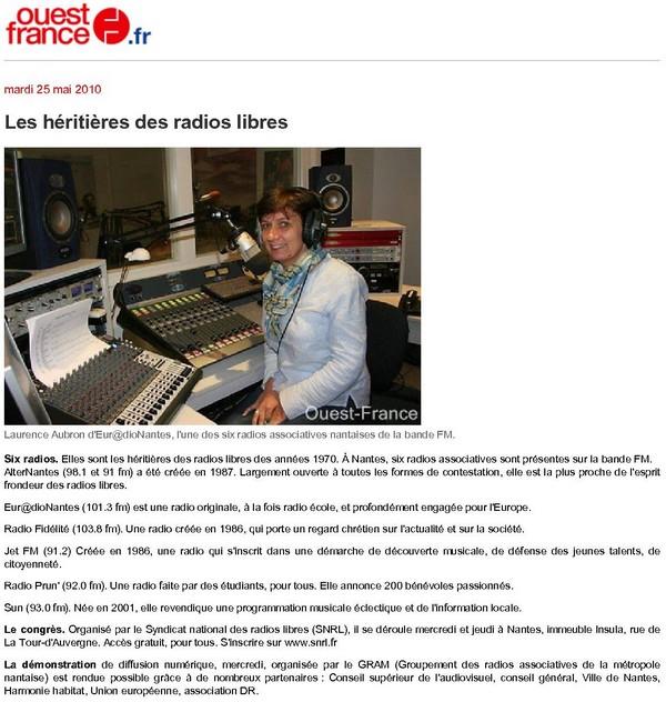 les radios associatives de nantes Ouest-france.fr-Lesh%C3%A9riti%C3%A8resdesradioslibresnantes